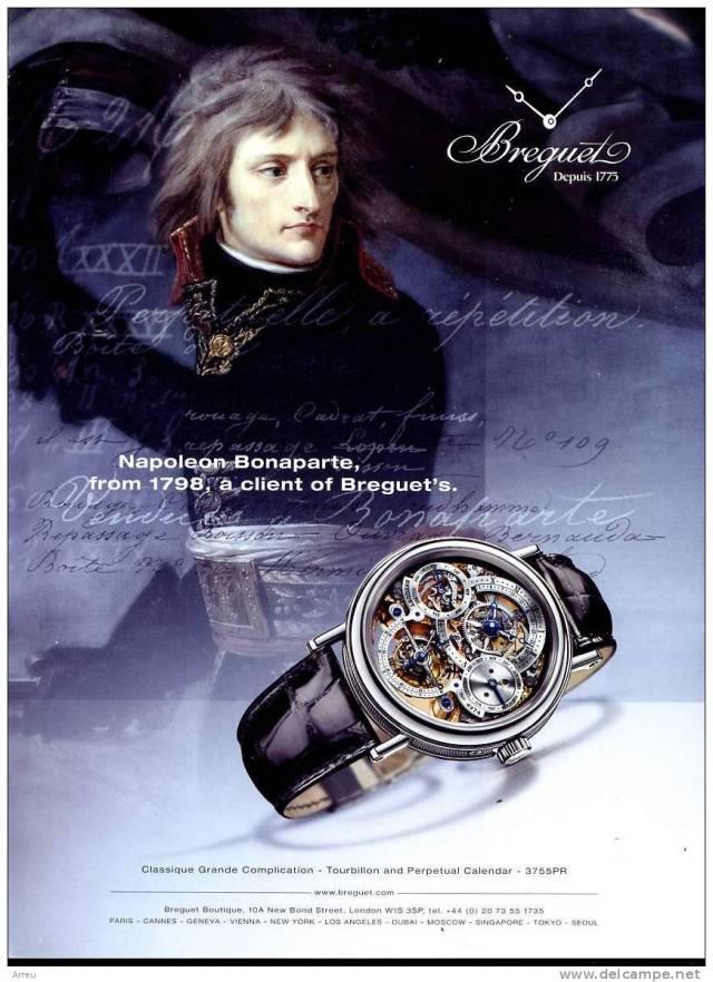 Napoléon et les montres Breguet