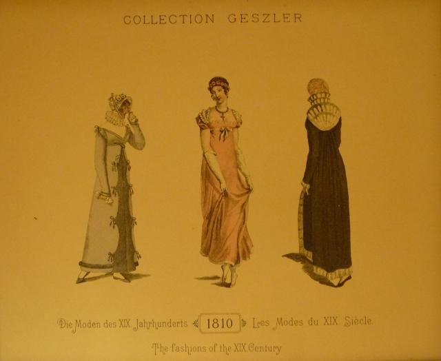 Collection Geszler : Les modes du XIXe siècle