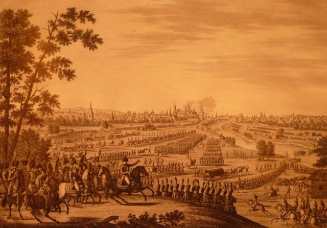 Entrée de l'armée française à Moscou