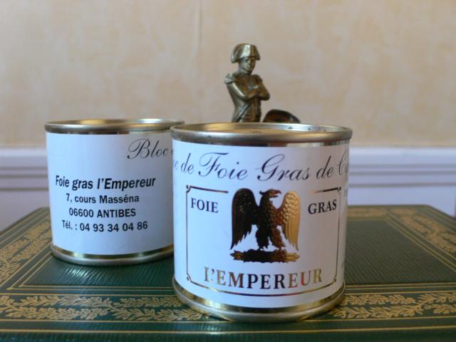 Napoléon et bloc de foie gras