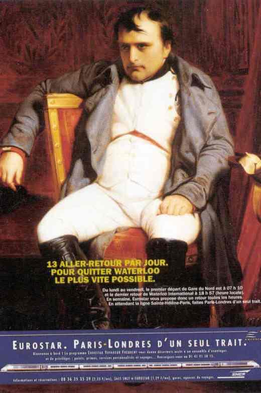 Napoléon et l'Eurostar