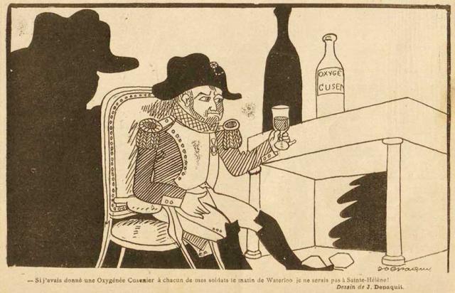 Napoléon et L'Oxygène Cusenier