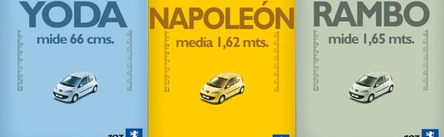 Napoléon et Peugeot 107