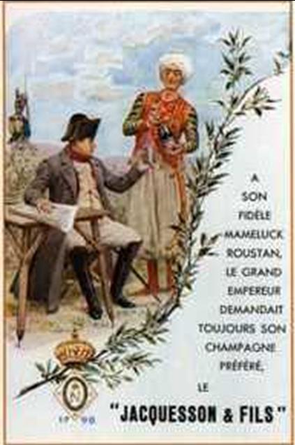 Napoléon et le champagne Jacquesson & Fil