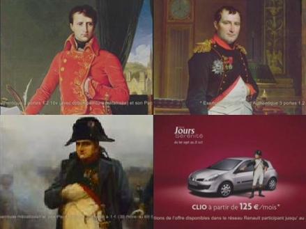 Napoléon et Renault Sérénité