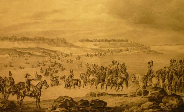 L'armée française traversant la Dvina près de Beshenkovichi le 24 juillet 1812