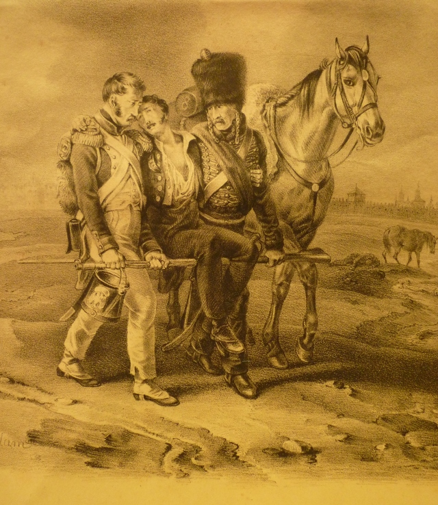 Près de Smolensk le 18 août 1812