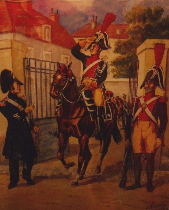 Gendarmerie impériale en 1812