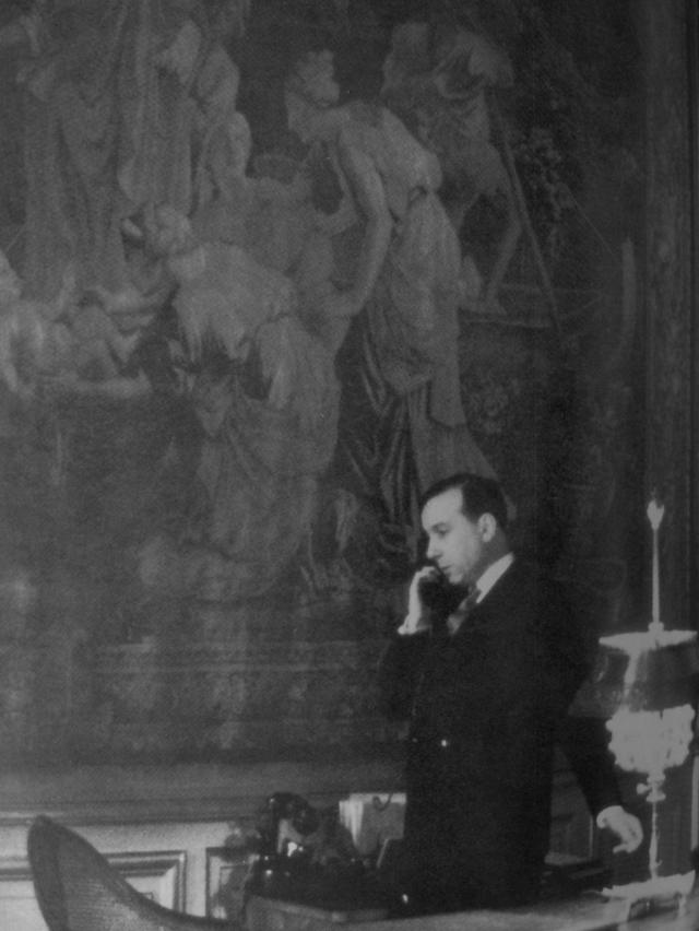 Michel Debré à l'Hôtel Matignon
