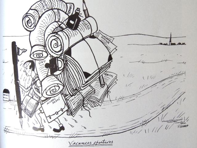 Caricature de Sennep