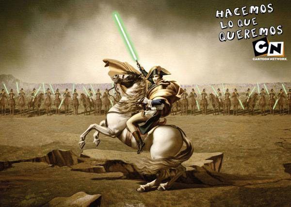 Napoléon et Cartoon Network