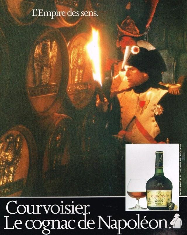 Napoléon et le cognac Courvoisier