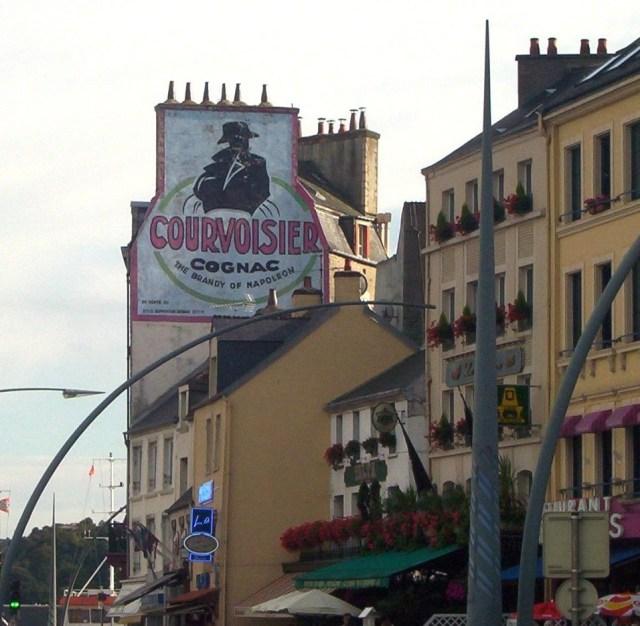 Affiche publicitaire Courvoisier