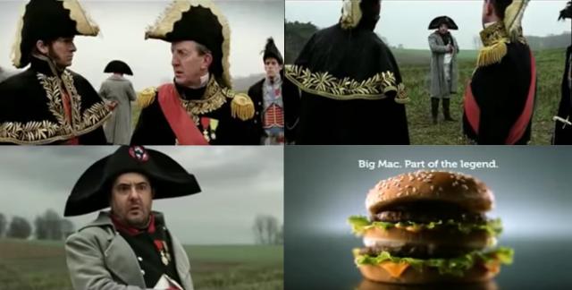 Napoléon et McDonald's
