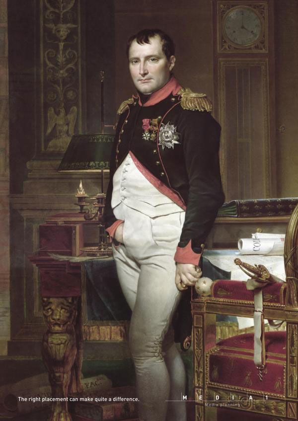 Napoléon et le média planning