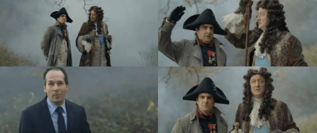 Napoléon, Louis XIV et l'automobile