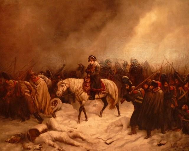 Le retour de Napoléon de la campagne de Russie